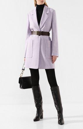Женские кожаные сапоги VIC MATIE черного цвета, арт. 1V7902D.T24C3AB323 | Фото 2