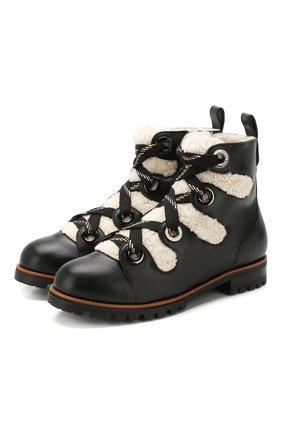 Кожаные ботинки Bei | Фото №1