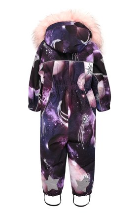 Детский комбинезон pyxis fur MOLO фиолетового цвета, арт. 5W19N102 | Фото 2