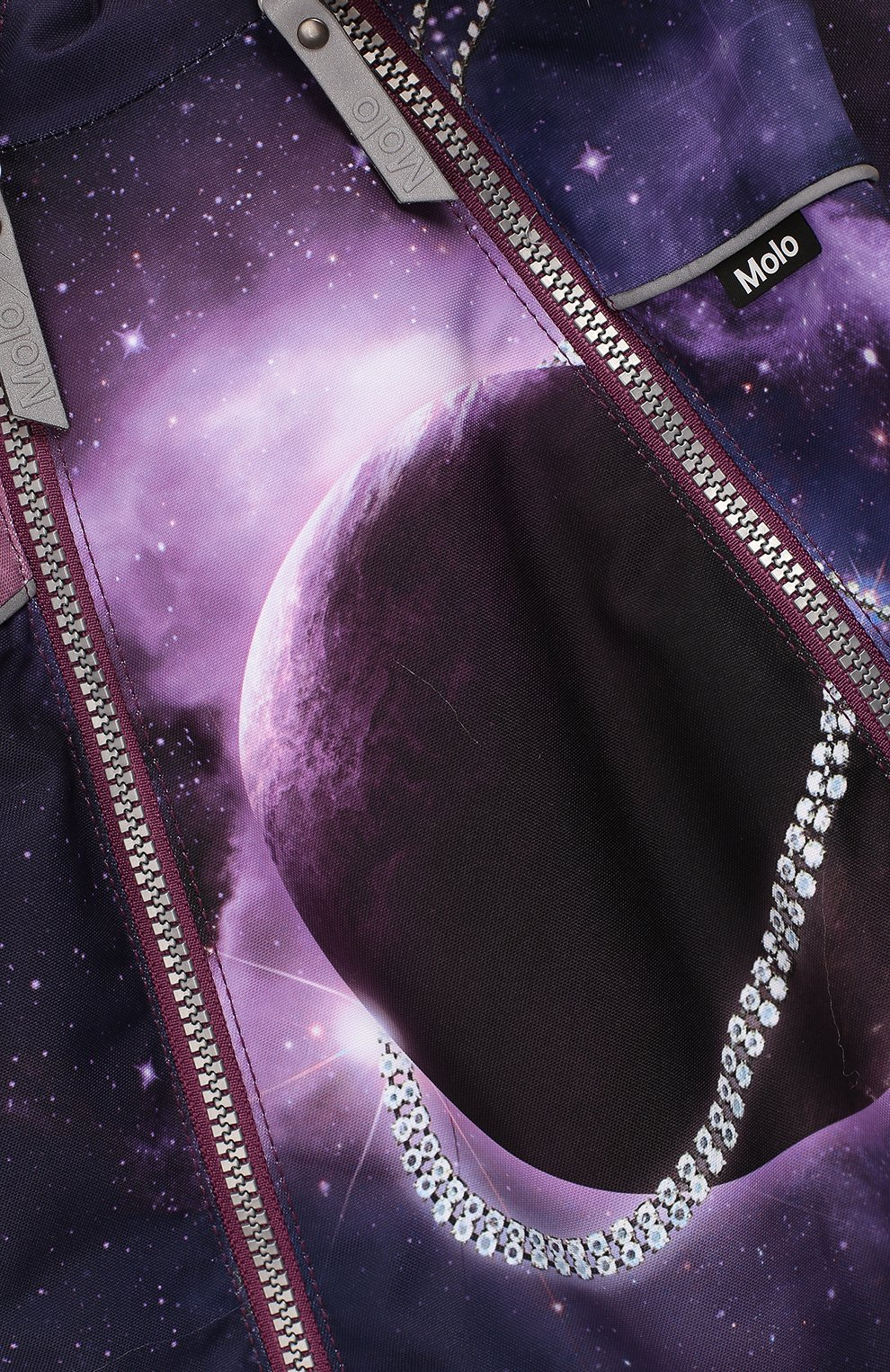 Детский комбинезон pyxis fur MOLO фиолетового цвета, арт. 5W19N102 | Фото 3