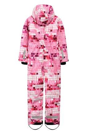 Детский комбинезон hux MOLO розового цвета, арт. 5W19N205 | Фото 2