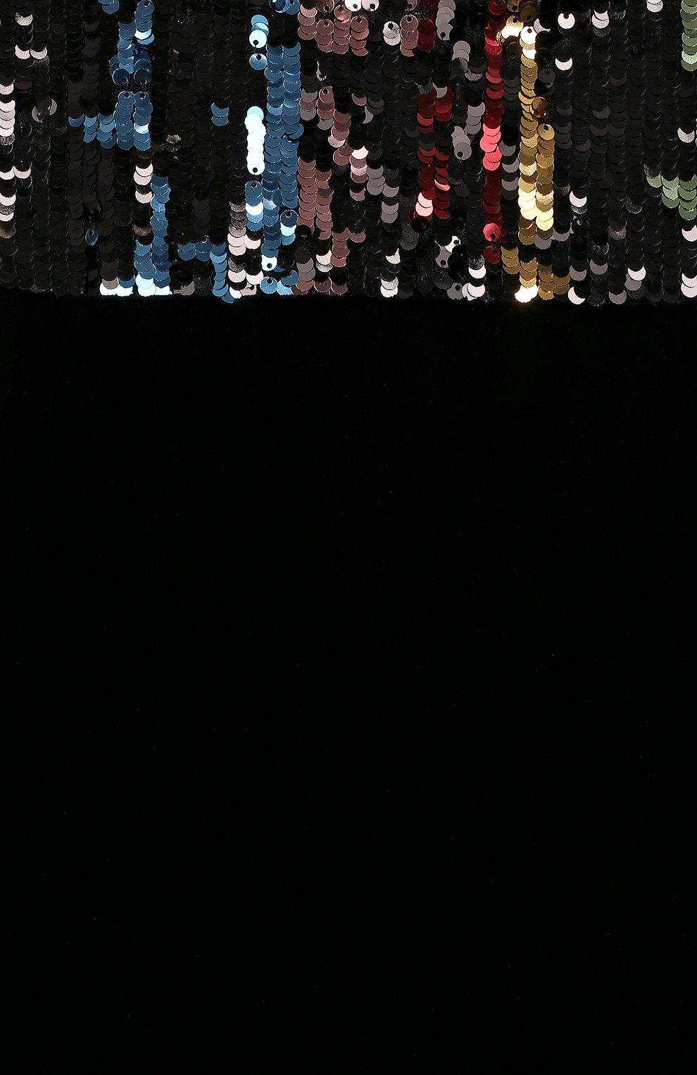 Детское платье с пайетками YUDASHKIN KIDS разноцветного цвета, арт. 319-TGE-473152 | Фото 3