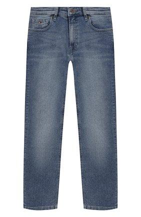 Детские джинсы TOMMY HILFIGER синего цвета, арт. KB0KB04922   Фото 1