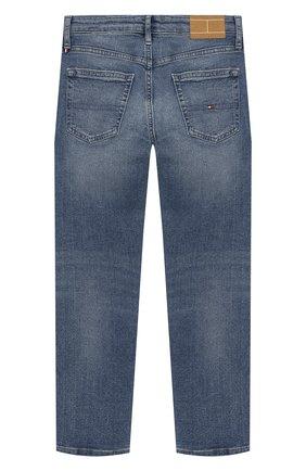 Детские джинсы TOMMY HILFIGER синего цвета, арт. KB0KB04922   Фото 2