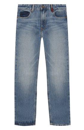 Детские джинсы TOMMY HILFIGER синего цвета, арт. KB0KB05164   Фото 1