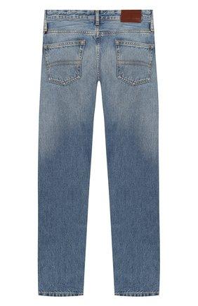 Детские джинсы TOMMY HILFIGER синего цвета, арт. KB0KB05164   Фото 2