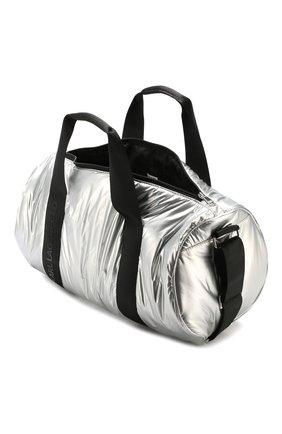 Детская сумка KARL LAGERFELD KIDS серебряного цвета, арт. Z10062   Фото 3