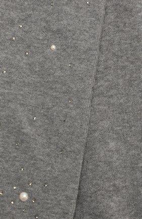 Детские хлопковые колготки LA PERLA серого цвета, арт. 47718/4-6 | Фото 2