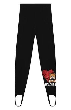 Хлопковые брюки со штрипками   Фото №1