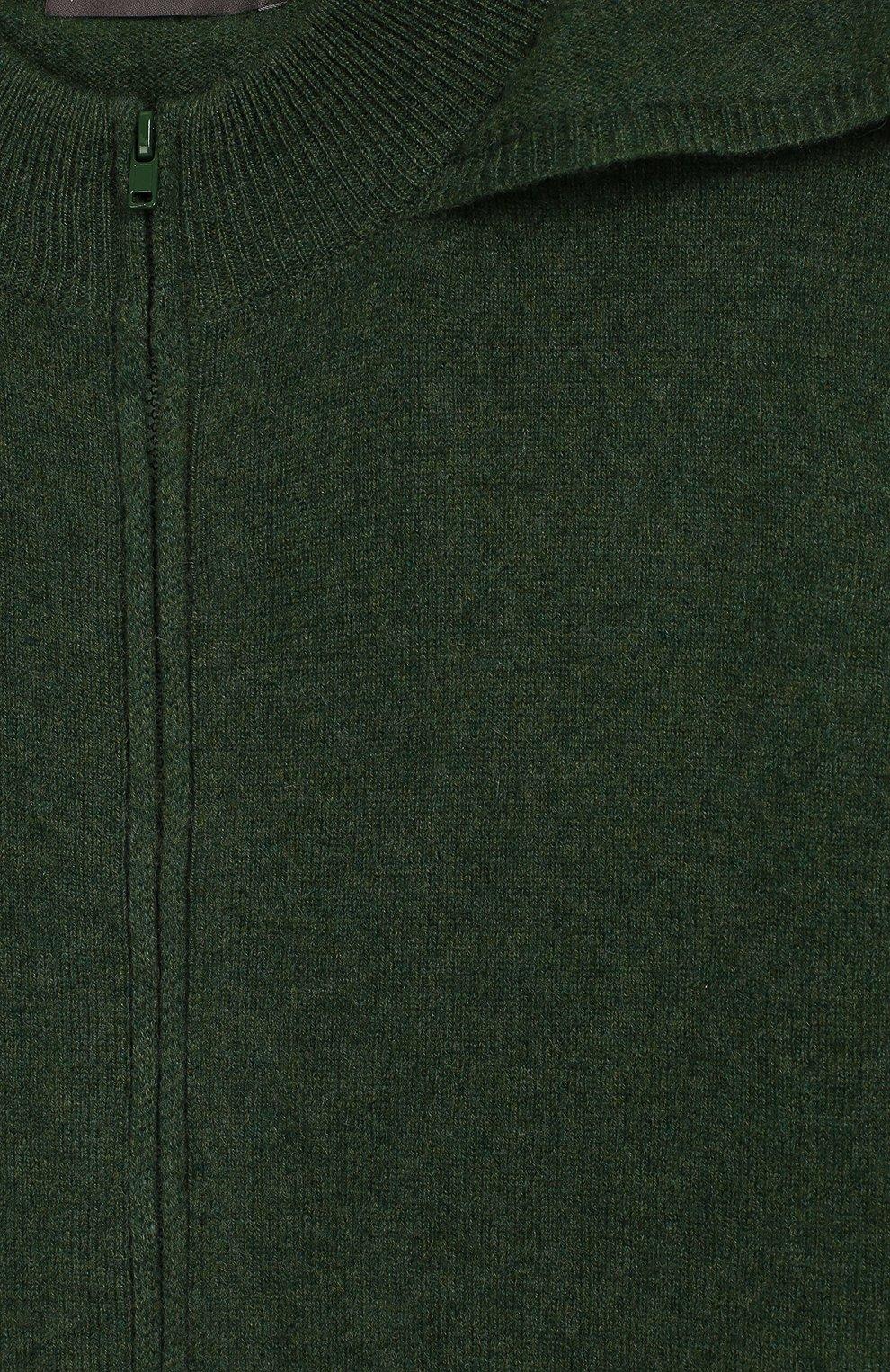 Кашемировый кардиган с капюшоном | Фото №3