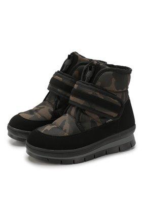 Текстильные ботинки   Фото №1