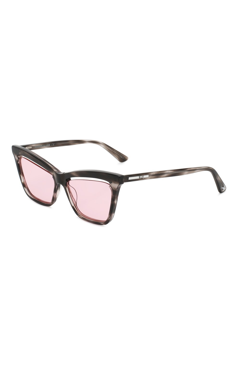 Женские солнцезащитные очки MCQ SWALLOW розового цвета, арт. MQ0156 003 | Фото 1 (Тип очков: С/з; Статус проверки: Проверено, Проверена категория; Оптика Гендер: оптика-женское; Очки форма: Cat-eye)