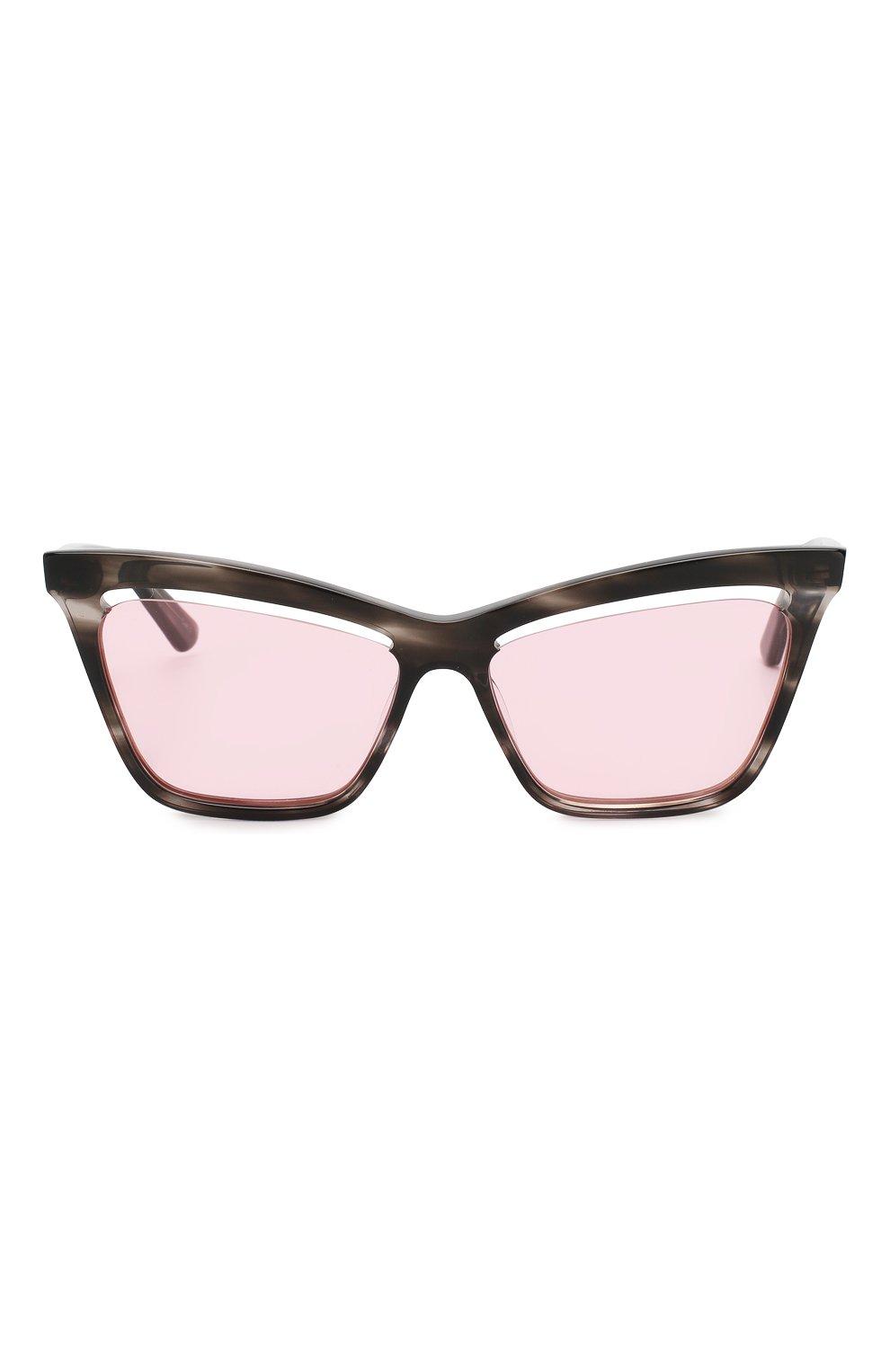 Женские солнцезащитные очки MCQ SWALLOW розового цвета, арт. MQ0156 003 | Фото 3 (Тип очков: С/з; Статус проверки: Проверено, Проверена категория; Оптика Гендер: оптика-женское; Очки форма: Cat-eye)