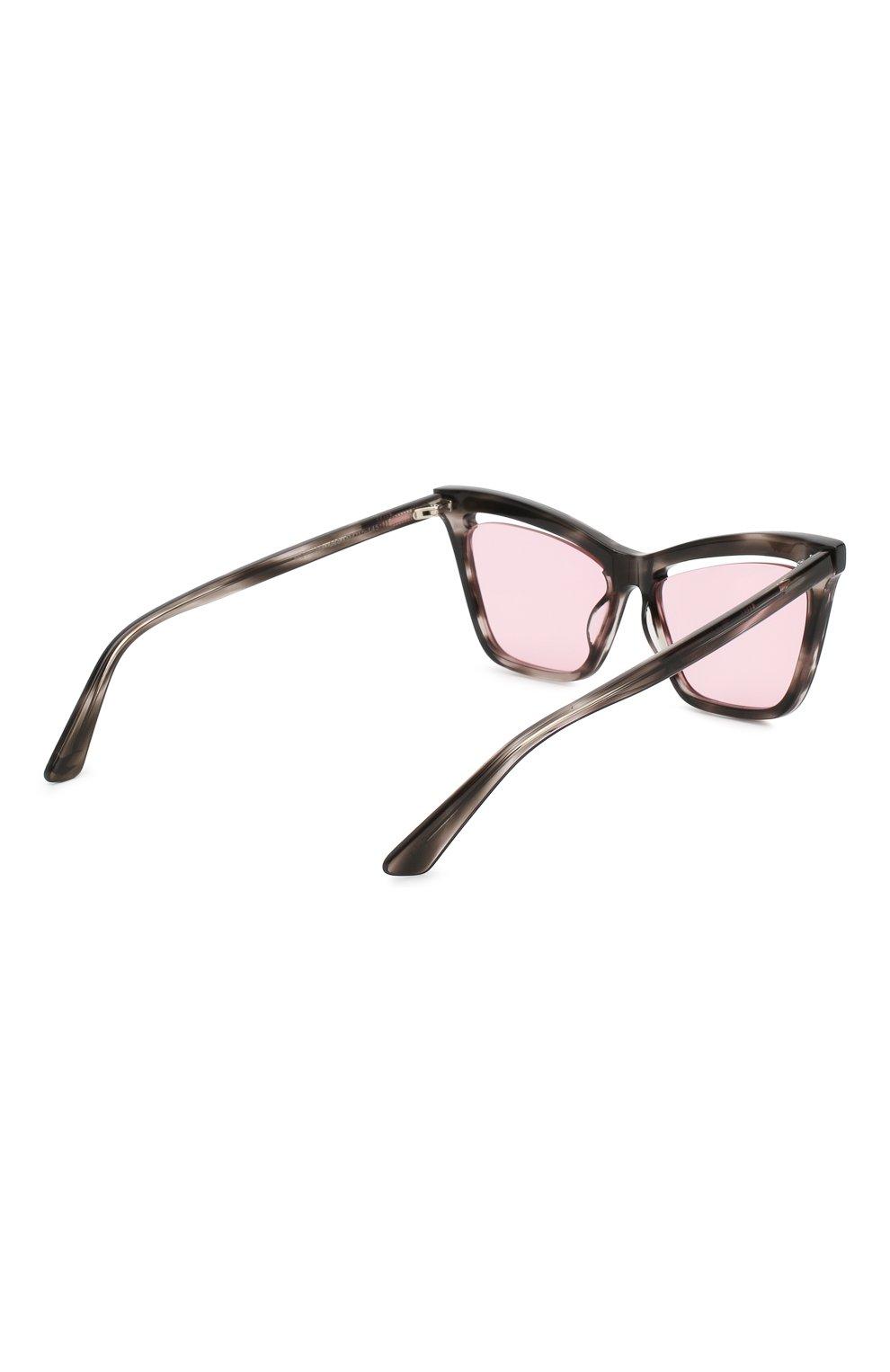 Женские солнцезащитные очки MCQ SWALLOW розового цвета, арт. MQ0156 003 | Фото 4 (Тип очков: С/з; Статус проверки: Проверено, Проверена категория; Оптика Гендер: оптика-женское; Очки форма: Cat-eye)