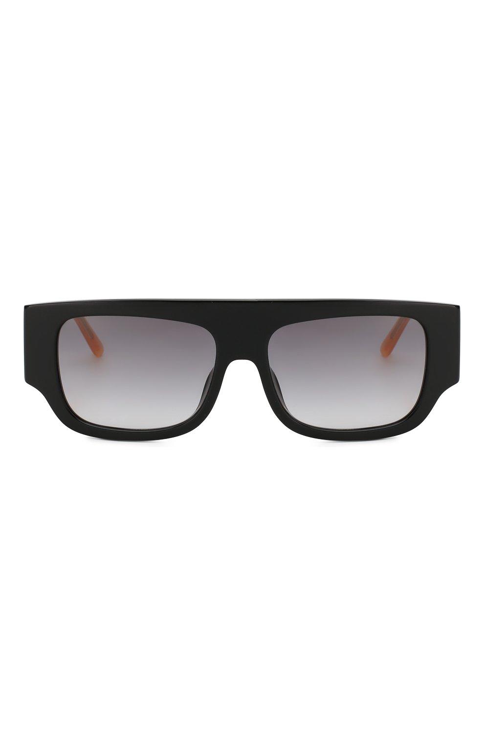 Женские солнцезащитные очки N21 черного цвета, арт. N21S36C1 SUN | Фото 3
