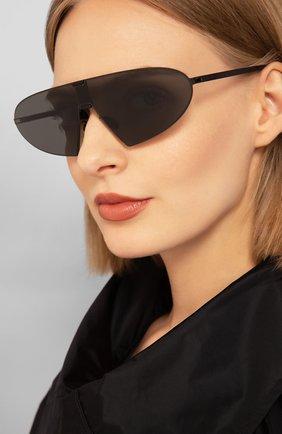 Мужские солнцезащитные очки MYKITA черного цвета, арт. KARMA/329 | Фото 2
