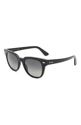 Женские солнцезащитные очки RAY-BAN черного цвета, арт. 2168-901/71 | Фото 1