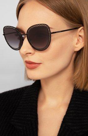 Мужские солнцезащитные очки DOLCE & GABBANA черного цвета, арт. 2226-01/8G | Фото 2