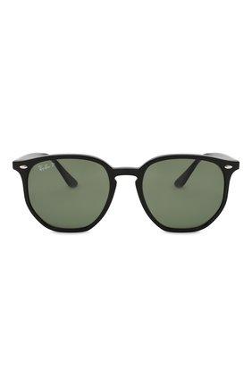 Женские солнцезащитные очки RAY-BAN темно-зеленого цвета, арт. 4306-601/9A   Фото 3