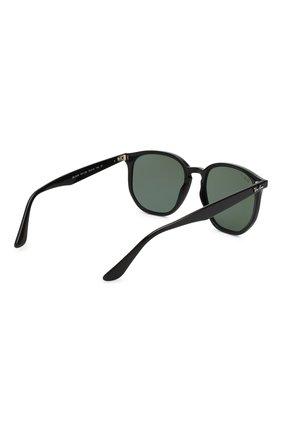 Женские солнцезащитные очки RAY-BAN темно-зеленого цвета, арт. 4306-601/9A   Фото 4