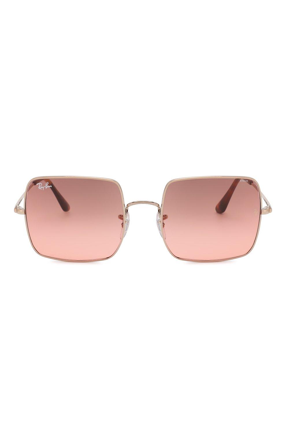 Женские солнцезащитные очки RAY-BAN розового цвета, арт. 1971-9151AA | Фото 3