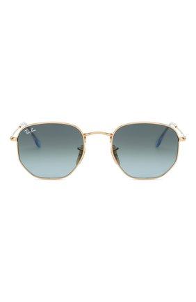 Женские солнцезащитные очки RAY-BAN голубого цвета, арт. 3548N-91233M | Фото 3
