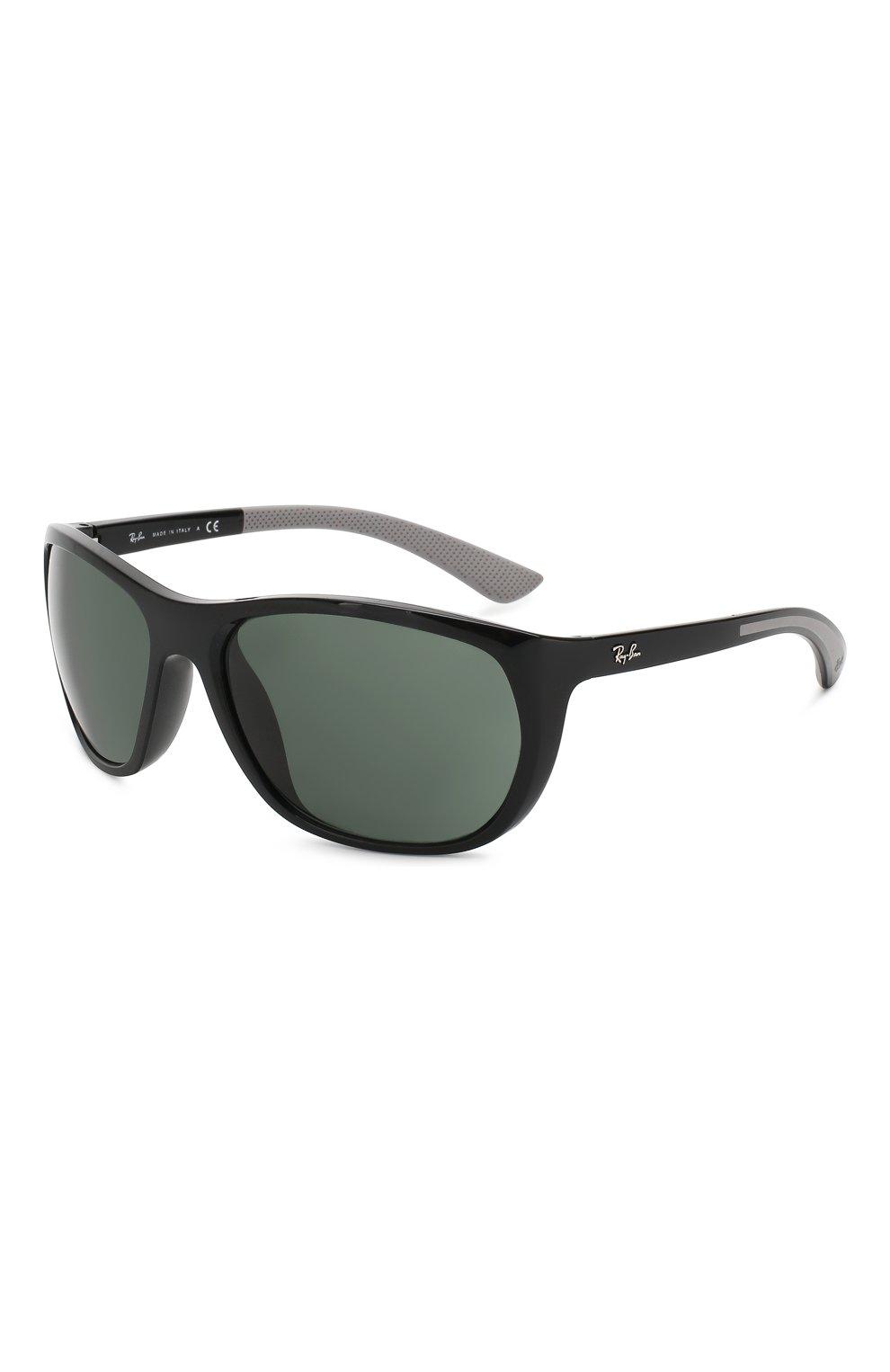 Женские солнцезащитные очки RAY-BAN черного цвета, арт. 4307-601/71   Фото 1