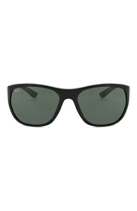 Женские солнцезащитные очки RAY-BAN черного цвета, арт. 4307-601/71   Фото 3