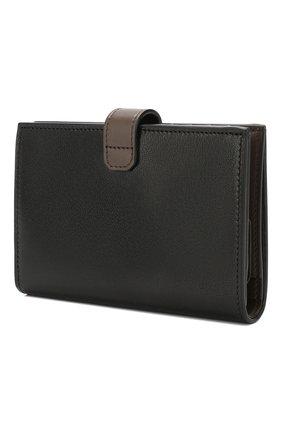 Женские кожаный кошелек gv3 GIVENCHY черного цвета, арт. BB601GB056 | Фото 2