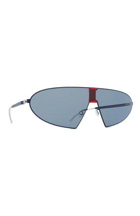 Мужские солнцезащитные очки MYKITA синего цвета, арт. KARMA/422 | Фото 1