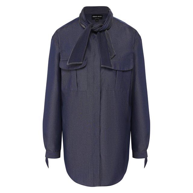 Шерстяная блузка Giorgio Armani