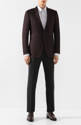 Мужской кожаные дерби BERLUTI коричневого цвета, арт. S4845-001 | Фото 2