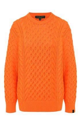 Женская свитер RAG&BONE оранжевого цвета, арт. WAS19FS0388B37 | Фото 1