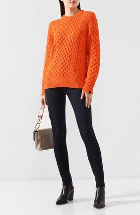 Женская свитер RAG&BONE оранжевого цвета, арт. WAS19FS0388B37   Фото 2