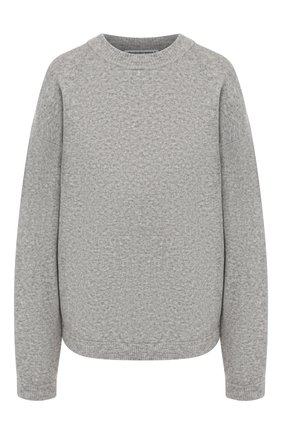 Женская шерстяной свитер ALEXANDERWANG.T светло-серого цвета, арт. 4KC2191071 | Фото 1
