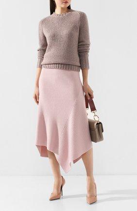Женская кашемировый свитер GABRIELA HEARST темно-бежевого цвета, арт. 119939 A009 | Фото 2