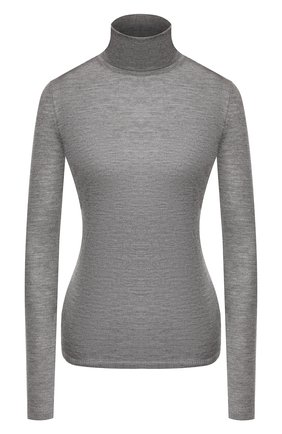 Женская водолазка из смеси кашемира и шелка GABRIELA HEARST серого цвета, арт. 119905 A003 | Фото 1