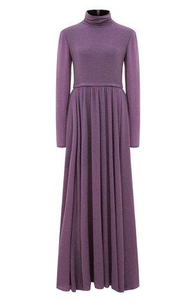 Женское платье-макси PHILOSOPHY DI LORENZO SERAFINI фиолетового цвета, арт. A0463/5732 | Фото 1