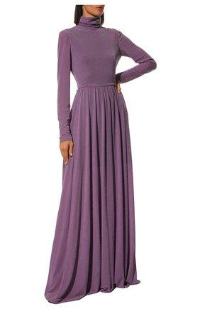 Женское платье-макси PHILOSOPHY DI LORENZO SERAFINI фиолетового цвета, арт. A0463/5732 | Фото 2