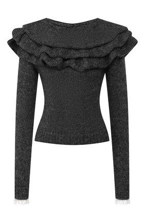 Женская свитер PHILOSOPHY DI LORENZO SERAFINI серого цвета, арт. A0935/7104 | Фото 1