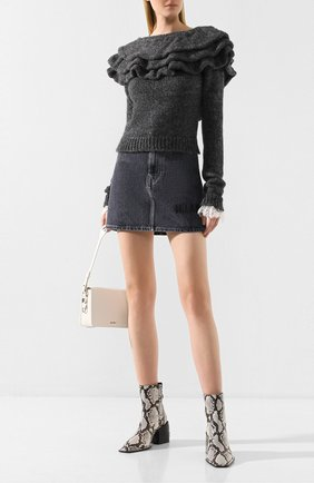 Женская свитер PHILOSOPHY DI LORENZO SERAFINI серого цвета, арт. A0935/7104 | Фото 2