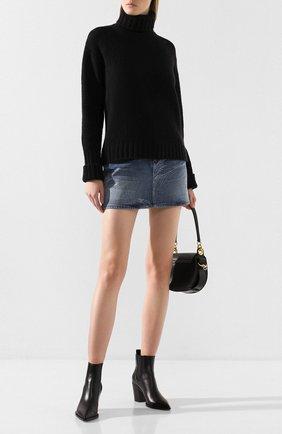 Женская свитер PHILOSOPHY DI LORENZO SERAFINI черного цвета, арт. V0933/7102 | Фото 2