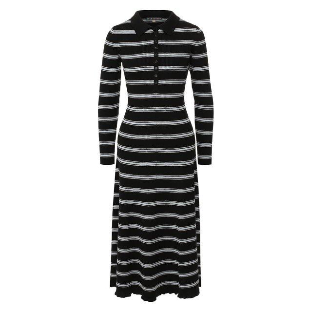 Шерстяное платье Alexachung.
