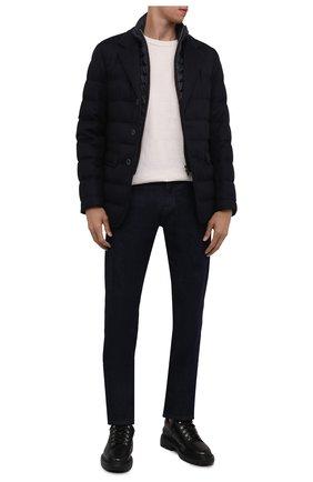 Мужская пуховая куртка HERNO темно-синего цвета, арт. PI0583U/38087 | Фото 2