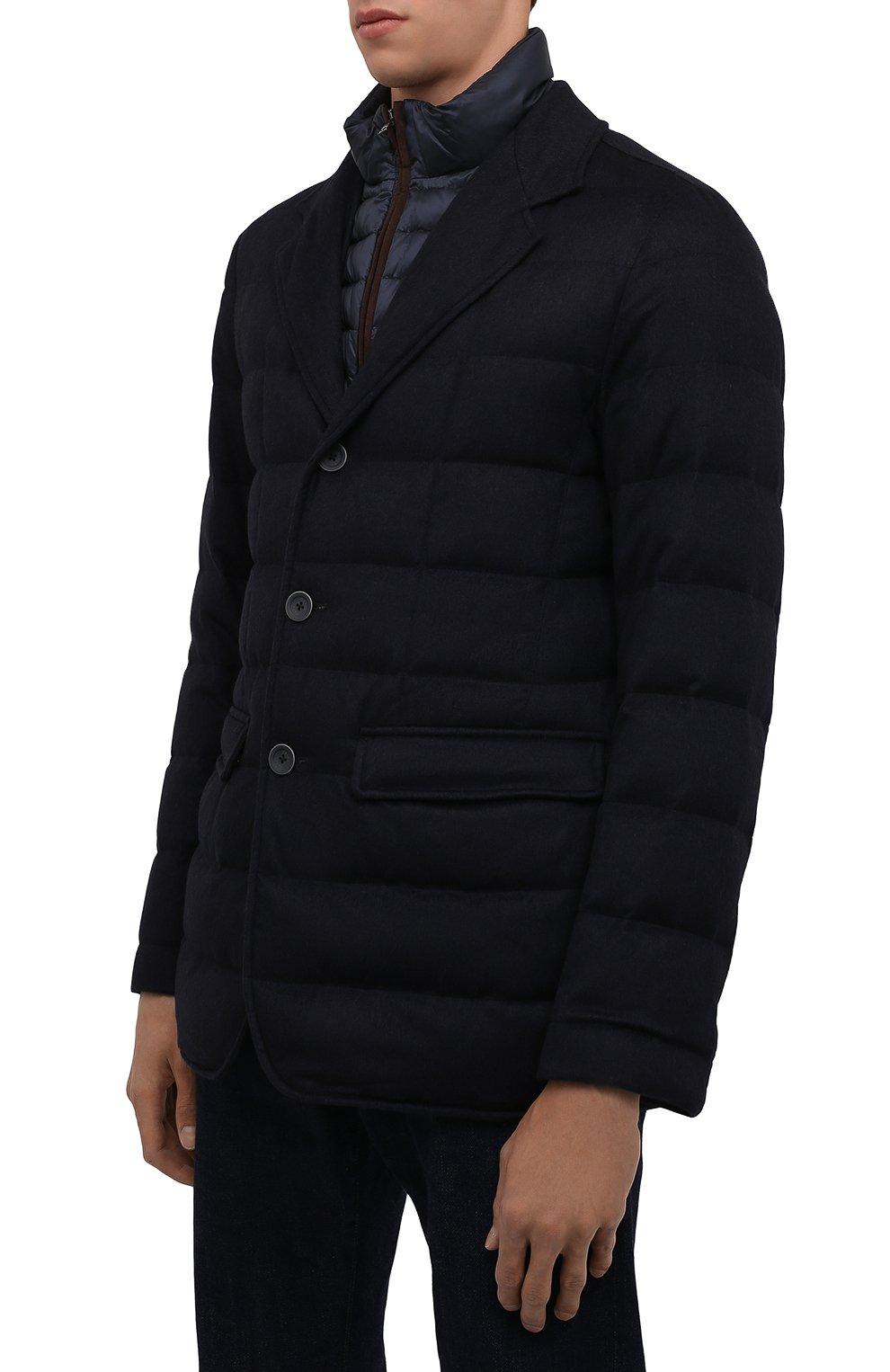 Мужская пуховая куртка HERNO темно-синего цвета, арт. PI0583U/38087 | Фото 3