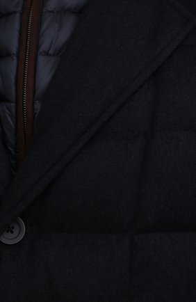 Мужская пуховая куртка HERNO темно-синего цвета, арт. PI0583U/38087 | Фото 5