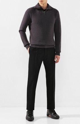 Мужской кашемировый джемпер BRIONI темно-серого цвета, арт. UMFQ0L/08K11 | Фото 2