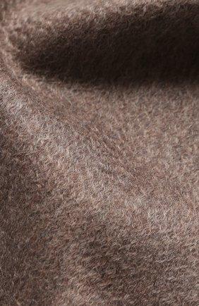 Мужской кашемировый шарф ANDREA CAMPAGNA бежевого цвета, арт. 181 DES 840MI/SCARF | Фото 2