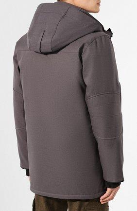 Мужская пуховая парка windermere CANADA GOOSE серого цвета, арт. 2579M | Фото 4
