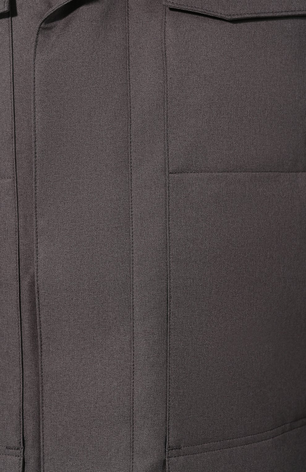 Мужская пуховая парка windermere CANADA GOOSE серого цвета, арт. 2579M | Фото 5